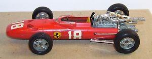 【送料無料】模型車 スポーツカー オリジナルフランスフェラーリレッドオレンジold original solido made france ferrari v12 1967 f1 red orange ref 167b 143
