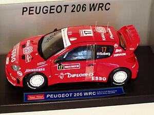 【送料無料】模型車 スポーツカー 118プジョー206wrcラリーgb 2004 hsolberg118 peugeot 206 wrc wales rally gb 2004 hsolberg