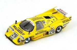 【送料無料】模型車 スポーツカー スパークモデルrondeau m379 c n28 33th lm 1983 elfordverneygouhier 143 spark s2269 model
