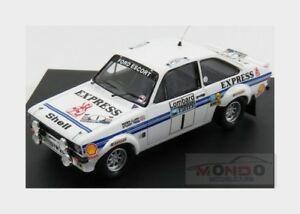 【送料無料】模型車 スポーツカー フォードイングランドエスコート#ラリーロンバードクラークペグford england escort mkii 1 rally rac lombard 1977 clark pegg trofeu 143 tr1018