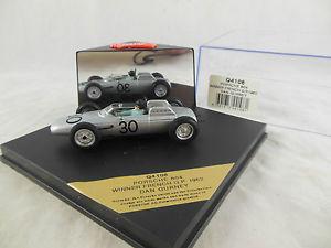 【送料無料】模型車 スポーツカー ポルシェダンガーニーレーシングscarce quartzo q4108 porsche 804 winner franch gp 1962 dan gurney racing 30