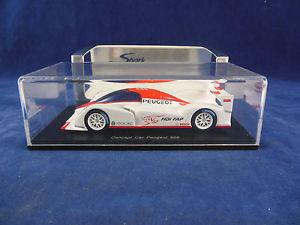 【送料無料】模型車 スポーツカー スパークミニマックスコンセプトカープジョーパリスケールspark minimax s1270 concept car peugeot 908 paris 2008 scale 143