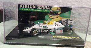 【送料無料】模型車 スポーツカー 143f1 c williams fw08 ayrtonセンナ1983lang143 f1 c williams fw08 ayrton senna 1983 lang