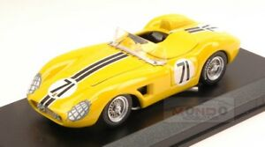 【送料無料】模型車 スポーツカー フェラーリ500 trc71 27thセブリング1958deラメーサゴンサレスメナ143art318 mferrari 500 trc 71 27th sebring 1958 de la mesagonzalezmena 143 art ar
