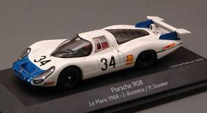 【送料無料】模型車 スポーツカー ポルシェ#ルマンモデルporsche 908 lh 34 le mans 1968 buzzetta scooter 143 model schuco