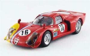 【送料無料】模型車 スポーツカー アルファロメオ332クーペn16 1000km1968 gosselintrosch 143be9578 moalfa romeo 332 coupe n16 1000 km spa 1968 gosselintrosch 143 best b