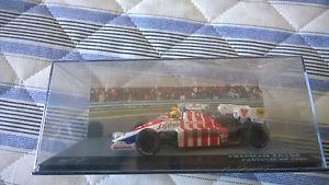 【送料無料】模型車 スポーツカー ハートtgアイルトンセナブラジルモータースポーツポルトガルtoleman hart tg184 ayrton senna  brazilian legends of motorsport portugal 1984
