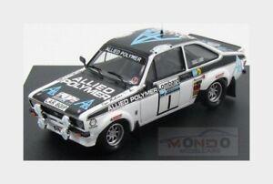 【送料無料】模型車 スポーツカー フォードエスコートmkii1rac1975tmakinen hliddonz trofeu 143 tf1014ford escort mkii 1 winner rally rac 1975 tmakinen hliddonz trofeu