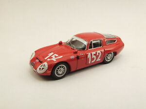 【送料無料】模型車 スポーツカー アルファromeo tz1 targa florio1970152 best 143 be9380モデルalfa romeo tz1 targa florio 1970 152 best 143 be9380 model