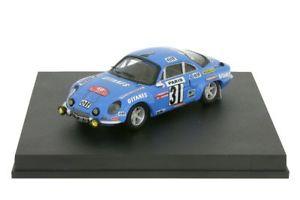 【送料無料】模型車 スポーツカー ルノーアルパインモンテカルロラリーメートルrenault alpine a110 1800ragnottimonte carlo rally 1976 143 trofeu 829m