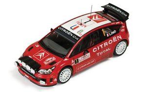 【送料無料】模型車 スポーツカー シトロエンモンテカルロラリーローブエレナ143 citroen c4 wrc total  monte carlo rally 2008  sloeb delena