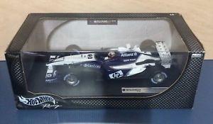 【送料無料】模型車 スポーツカー ホットホイールウィリアムズファンパブロモントーヤフォーミュラ118 hot wheels f1 williams bmw fw25 juan pablo montoya 2003 formula one