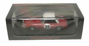 【送料無料】模型車 スポーツカー スパーク#ルマンヘッジスケールspark mgb 39 11th le mans 1965 hopkirkhedges 143 scale
