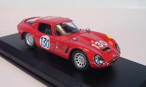 【送料無料】模型車 スポーツカー モデルアルファロメオタルガフロリオビアンキ#model best 143 9104 alfa romeo tz 2 targa florio 1964bianchikissie ovp 829