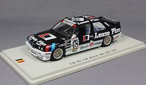 【送料無料】模型車 スポーツカー スパークスパヴァンデマーティンspark bmw m3 e30 spa 24 hour win 1987 van de poele, martin amp; theys sb067 143ltd