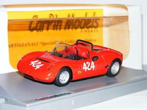 【送料無料】模型車 スポーツカー モデルフィアットアバルトキャンプイタリア#carpin models cp07 fiat abarth 2000 sp 1966 camp montagna 424 143