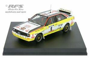 【送料無料】模型車 スポーツカー de アウディクワトロツールドコルスaudi quattro a2rallye tour quattro de corse 1984 1984 blomquist 143 trofeu 1619m, ノナカ金物店:bf76039b --- sunward.msk.ru