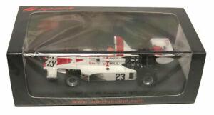 【送料無料】模型車 スポーツカー スパークスウェーデングランプリトニースケールspark hill gh1 embassy 6th sweden gp 1975 tony brise 143 scale