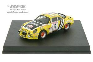 【送料無料】模型車 スポーツカー アルパインルノーツールドコルスalpine renault a110 rallye tour de corse 1975larrousse 143 trofeu 0839mg