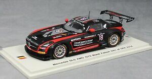 【送料無料】模型車 スポーツカー スパークメルセデスベンツsls amg gt324h2014143マスカットlunkinブレッケsb085