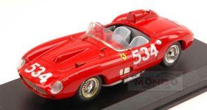 【送料無料】模型車 スポーツカー フェラーリ#アートモデルアートferrari 335 s 534 retired mm 1957 collinsklementasky 143 art model art157 mod