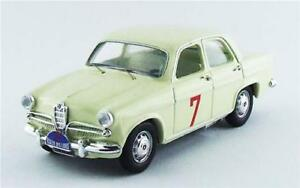 【送料無料】模型車 スポーツカー アルファロメオラリーデライオンズリオリオモデルalfa romeo giulietta ti rallye des lions 1961 rio 143 rio4455 model