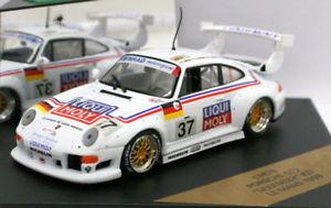 【送料無料】模型車 スポーツカー モデルスケールポルシェグアテマラキバナノギョウジャニンニク#ルマンvitesse models 143 scale l167b porsche 911 gt2 liqui moly 37 le mans 1996