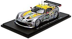 【送料無料】模型車 スポーツカー クライスラーバイパーチームモータースポーツルマンスパークchrysler viper gtsr 80l v10 team srt motorsports le mans 2013 spark 143 s3771
