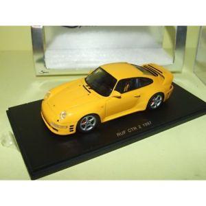 【送料無料】模型車 スポーツカー 1997 ポルシェスパークporsche spark 993 993 ruf ctr 2 1997 jaune spark s0705 143, 又一庵:12ebffc3 --- sunward.msk.ru