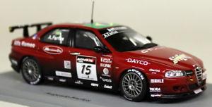 【送料無料】模型車 スポーツカー スパークスケールアルファロメオ#モデルカーspark 143 scale s0476 alfa romeo 156 15 wtcc 2006 a farfus resin model car
