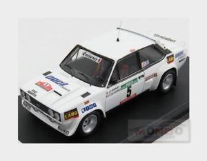 【送料無料】模型車 スポーツカー trral48 5 フィアットアバルト#ラリーポルトガルモデルfiat 131 abarth 5 4th 4th rally portugal 1977 jcandruet trofeu 143 trral48 model, 宅配:694b92c5 --- sunward.msk.ru