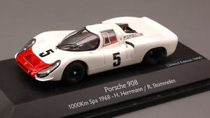 【送料無料】模型車 スポーツカー ポルシェ#スパモデルporsche 908 5 spa 1968 hermann stommelen 143 model 3725 schuco