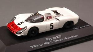 【送料無料】模型車 スポーツカー ポルシェ#ヘルマンモデルporsche 908 5 pps 1968 hermann stommelen 143 model schuco