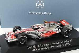 【送料無料】模型車 スポーツカー マクラーレンメルセデスヘイキコバライネンディーラーエディション143 mclaren mercedes mp 423 formula 1 2008 23 heikki kovalainen,dealer edition
