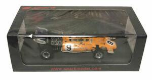 【送料無料】模型車 スポーツカー スパークマクラーレンモナコグランプリデニーヒュームスケールspark mclaren m19 4th monaco gp 1971 denny hulme 143 scale