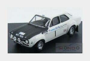 【送料無料】模型車 スポーツカー フォードエスコート1600 tc1アイルランド1969 trofeu 143 trcol1969 mford escort 1600 tc 1 winner rally circuit ireland 1969 trofeu 143 trcol