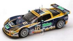【送料無料】模型車 スポーツカー コルベットルマンスパークモデルcorvette c 6 r n72 le mans 2007 143 spark sp0168 model