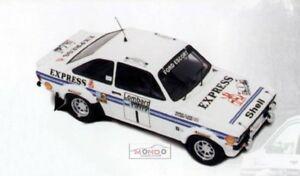 【送料無料】模型車 スポーツカー フォードエスコートエクスプレスロジャーtfford escort mkii express 4thrac roger clarkstuart p 1977 trofeu 143 tf1018