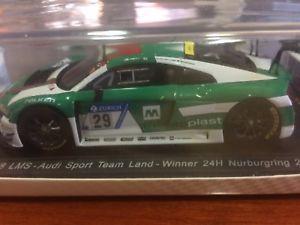【送料無料】模型車 no スポーツカー 29winner アウディニュルブルクリンクスパークaudi スポーツカー r8 lms no 29winner nurburgring 2017spark sg297, キャルウイングパーツ:427aa423 --- sunward.msk.ru