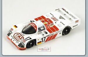 【送料無料】模型車 スポーツカー スポーツカー sp2083 ポルシェ#ルマンスパークモデルporsche 962 model c 17 le mans 1993 143 spark sp2083 model, スマコレ:72857700 --- sunward.msk.ru