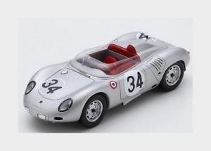 【送料無料】模型車 スポーツカー ポルシェ#ルマンスパークモデルporsche 718rsk 34 24h le mans 1959 ebarth wseidel spark 143 s4678 model