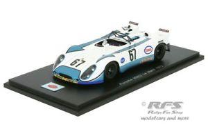 【送料無料】模型車 スポーツカー ポルシェルマンスパークporsche 90802 24h le mans 1972 poirotfarjon 143 spark 1982 amp; ovp