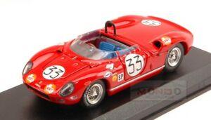 【送料無料】模型車 スポーツカー フェラーリ275p33812hセブリング1965 magliolibaghetti 143モデルart301mferrari 275 p 33 8th 12h sebring 1965 magliolibaghetti 143 art mode