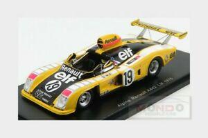 【送料無料】模型車 スポーツカー ルノーアルパイン#ルマンタンスパークrenault alpine a442 19 le mans 1976 jabouille ptambay dolhem spark 143 s1551