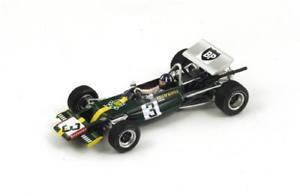 【送料無料】模型車 スポーツカー ロータス69 ghill 1970n3カステレトf2 143s2146モデルlotus 69 ghill 1970 n3 castellet f2 143 spark s2146 model