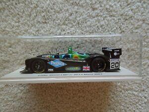 【送料無料】模型車 スポーツカー #ルマンスパークスコット 2003 lister storm lmp 20 le mans 24 hours 143 spark scot05
