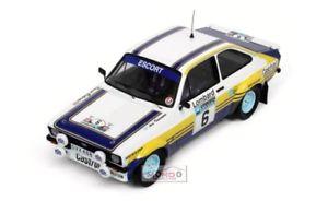 【送料無料】模型車 スポーツカー フォードエスコート#ford escort mk ii 6 rac 1979 143 trofeu tf1012