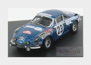 【送料無料】模型車 スポーツカー ルノーアルパイン#ラリーモンテカルロピオットrenault a110 alpine 23 6th rally montecarlo 1973 jf piot trofeu 143 tr0842 mo