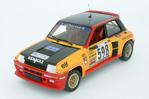 【送料無料】模型車 スポーツカー ルノーラリージャイロデイタリア118 renault 5 turboguy frequelin rally giro de italia 1979 uh 4552