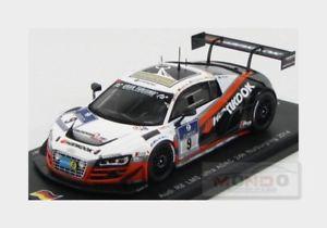 【送料無料】模型車 スポーツカー アウディウルトラチーム#ニュルブルクリンクスパークシングルモデルaudi r8 lms ultra team hankook 9 adac nurburgring 2014 spark 143 sg147 model